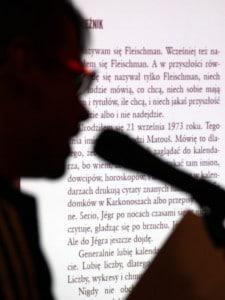 Fragment książki wyświetlony na ekranie