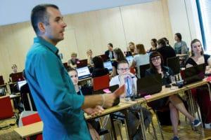 Skupienie uczestników warsztatu w Opolu