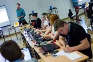 Uczestnicy szkolenia z gamifikacji w Opolu