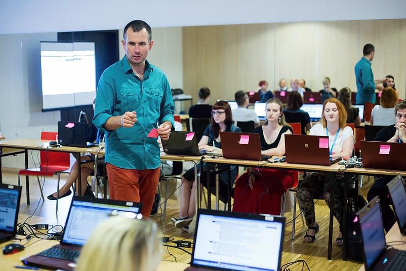 Sprawdzanie umiejętności uczestników szkolenia w Opolu