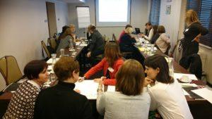 Dyskusja grupowa o potrzebach bibliotekarzy