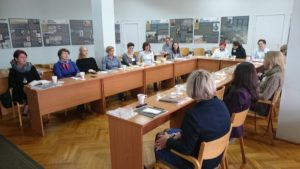 Spotkanie potrzeby szkoleniowe kadr bibliotecznych