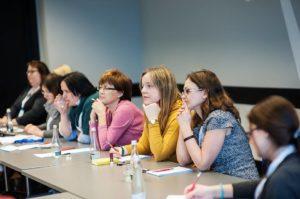 Uczestnicy szkolenia w Sopocie przy pracy