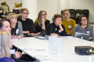 Uczestnicy spotkania Myśl nieszablonowo działaj innowacyjnie