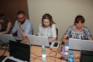 Tworzenie gry mobilnej przez bibliotekarzy w Łodzi