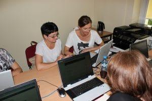 Uczestnicy szkolenia z gamifikacji w Łodzi