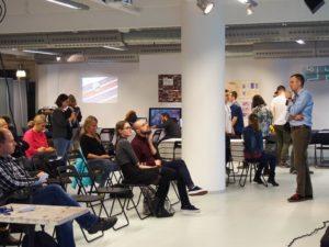 Spotkanie Gamifikacja kultury na Forum Aplikacji Mobilnych