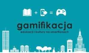 Plakat gamifikacji na smartfony na Forum Aplikacji Mobilnych