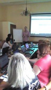 Szkolenie Czytamy i gramy w Opolu prowadzący Marcin Skrabka