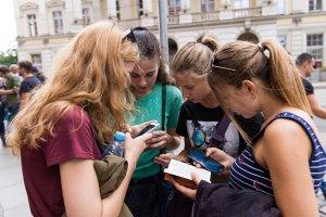 Testowanie gry mobilnej na mieście