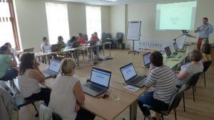 Uczestnicy szkolenia Olsztyn gamifikacją stoi