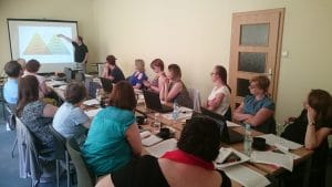 Uczestnicy szkolenia Czytamy i gramy w Opolu
