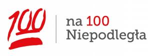 Logo programu 100 na 100 Niepodległa