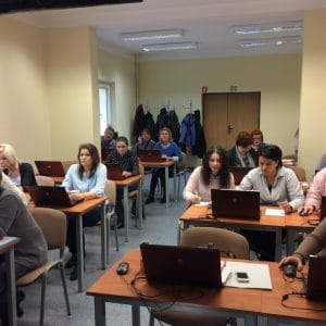 Uczestnicy szkolenia w Rzeszowie