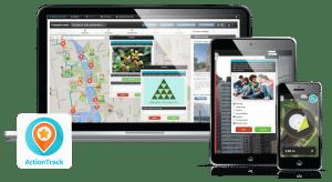 gry terenowe - tak wygląda aplikacja Action Track