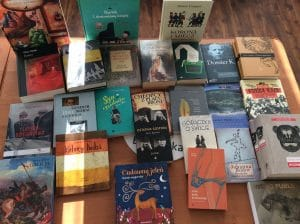 Zbiór węgierskich książek