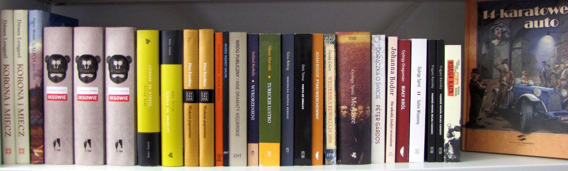 Literatura węgierska w Połańcu