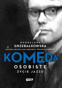 Okładka książki Komeda osobiste życie jazzu