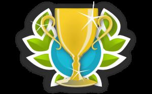 Puchar z aplikacji ActionTrack
