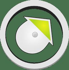 Ikonka kompasu w aplikacji ActionTrack