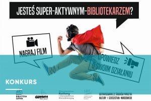 Baner konkursu dla bibliotekarzy