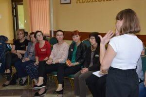 Uczestnicy szkolenia Widok na widownię w Piotrkowie