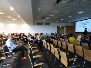 Sala konferencyjna podczas szkolenia Współczesna księgarnia