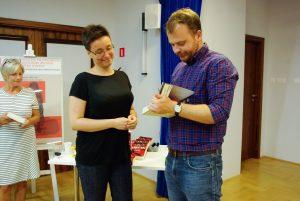 Alina Łysak i gra miejska w Wilanowie