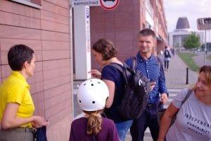 gra miejska w Wilanowie
