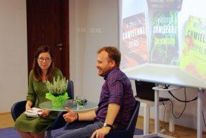 gra miejska w Wilanowie i spotkanie z Wojciechem Chmielarzem