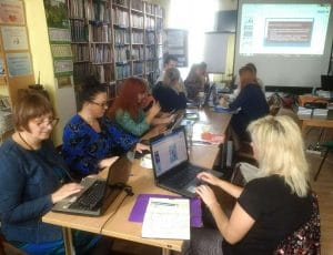 Szkolenie Bibliotekarze i praca w chmurze