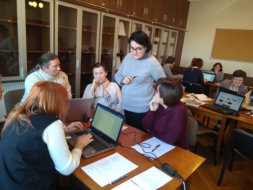 Projektowanie gier przez nauczycieli w Łomży