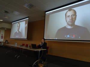 Połączenie wideo podczas Targów w Warszawie