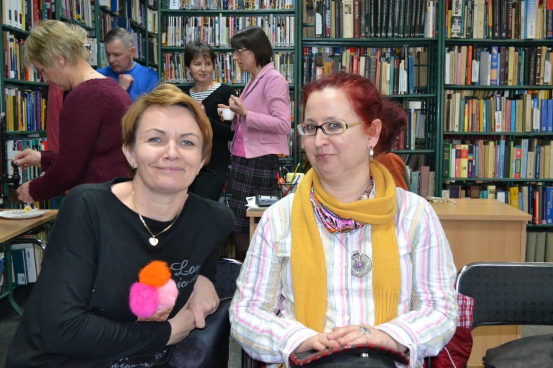 Uczestnicy szkolenia Dziedzictwo w bibliotece