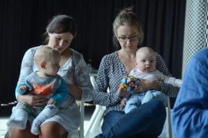 Dzieci na spotkaniu w ramach Akademii Dobrego Księgarza