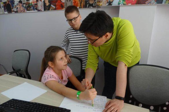 Prowadząca Półkolonie z projektowaniem gier Alina Łysak