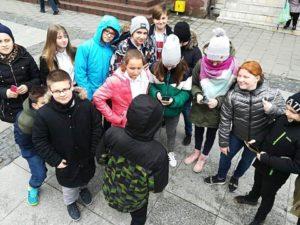 gra miejska dla uczniów