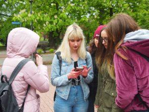 gra biblioteczna w Szczawnie