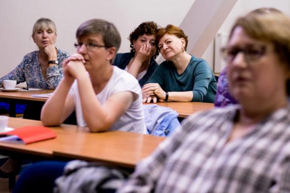 Ukraińcy w bibliotece