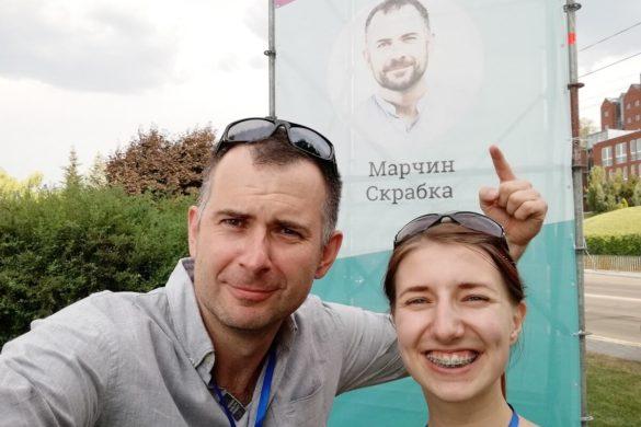 Marcin Skrabka po ukraińsku