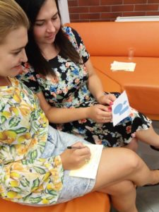 Uczestniczki szkolenia dla bibliotekarzy w Środzie Śląskiej