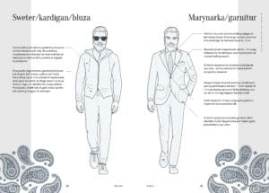 Ubrania hipstera - sweter, marynarka, garnitur