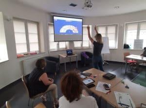 Szkolenie z obsługi multimediów na tablecie