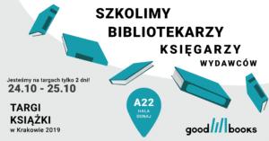 Targi książki w Krakowie w Good Books