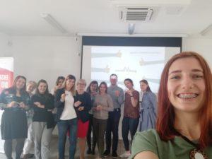 Uczestnicy szkolenia z druku 3d