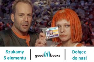 Marketingowiec poszukiwany do zespołu Good Books