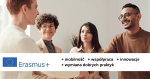 Baner programu Erasmus +