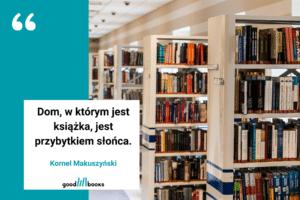 Cytat o bibliotece Kornela Makuszyńskiego Goodbooksowe memy.