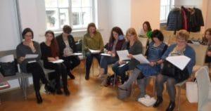 Uczestnicy szkolenia w Warszawie