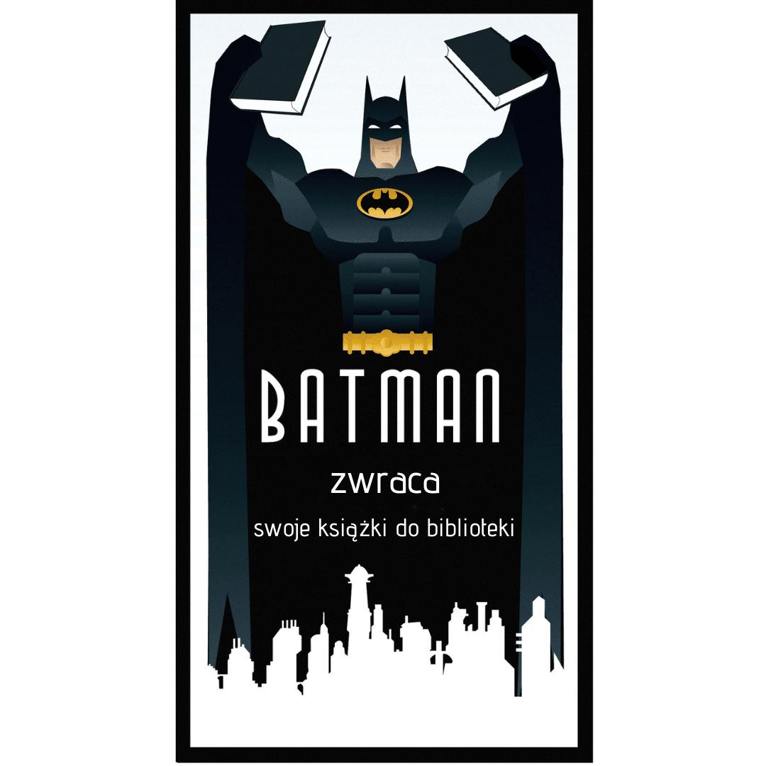 Batman zwraca swoje książki do biblioteki Goodbooksowe memy.